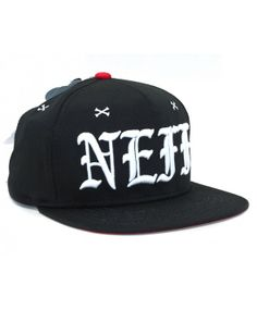 NEFF Snooper Snapback cap Black