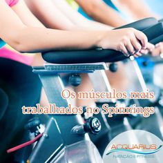 #AcquariusFitness Os músculos mais trabalhados no Spinning?Spinning não tem absolutamente nada a ver com isso. Sabe aquelas bicicletas ergométricas que tem nas academias e até na casa de muitas pessoas... Veja mais em http://www.acquariusfitness.com.br/blog/os-musculos-mais-trabalhados-no-spinning/ #VenhapraAcquariusFitness #façaSpinning #PratiqueSaude