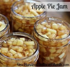 Apple Pie Jam Canning Recipe