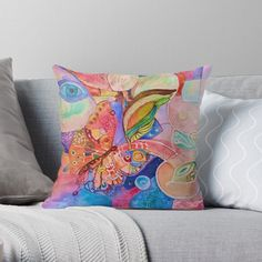 'Abstract Butterfly' Throw Pillow by Adele Buys Framed Prints, Canvas Prints, Art Prints, Sell Your Art, Finding Yourself, My Arts, Iphone Cases, Butterfly, Throw Pillows