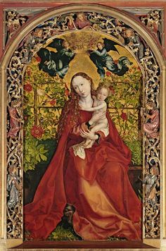 Madonna-of-the-Rose-Bower.jpg (397×600)