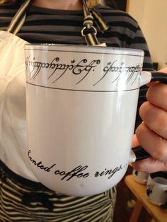 Tolkien-The Hobbit und Herr der Ringe inspiriert kostbare Becher. Sie haben Ihren Ring und daraus zu trinken. Verzauberte Ring Becher