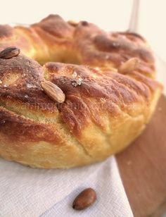 ammodomio: Pane di semola di grano duro a forma di treccia russa