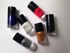 B.M.C. nail polish. A little expensive but TOTALLY worth it.