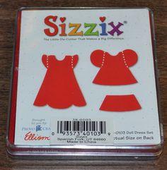 Sizzix Originals Dress /& Accessories ~ Craft Die Cutter