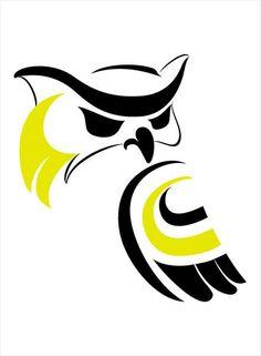 Messenger Print Haida Kunst, Haida Art, Owl Tattoo Drawings, Art Drawings, Tatouage Haida, Buho Logo, Native American Totem, Owl Logo, Native Design
