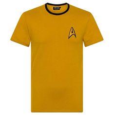 Star Trek Spock Scotty Captain Kirk Uniform Official Gift Mens T-Shirt Star Trek Theme, Star Trek Uniforms, Star Trek Spock, Descendants Costumes, Fashion Brands, Ebay, Stars, Mens Tops, T Shirt