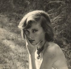 """Lady Caroline Blackwood (1931–1996), an Anglo-Irish aristocrat, known for her wry macabre novels and essays, as well as for her high-profile marriages, first to Lucian Freud, then to composer Israel Citkowitz and finally to poet Robert Lowell, who described her as """"a mermaid who dines upon the bones of her winded lovers""""."""