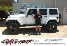 https://flic.kr/p/GKPBGc | Congratulations Diane  from Trent Barden at 4x4Works! | deliverymaxx.com/DealerReviews.aspx?DealerCode=B127