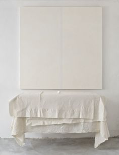in-home installation mood piece Shades Of White, White Aesthetic, All White, Pure White, Wabi Sabi, Decoration, Contemporary Art, Bed Pillows, Identity