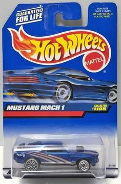 (TAS034427) - 1998 Mattel Hot Wheels Die-Cast - Mustang Mach 1, , Trucks & Cars, Hot Wheels, The Angry Spider Vintage Toys & Collectibles Store  - 1