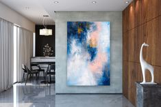 Items similar to Large Modern Wall Art Painting,Large Abstract Painting on Canvas,large art on canvas,texture art painting,canvas wall art on Etsy Large Canvas Art, Abstract Canvas Art, Large Painting, Canvas Wall Art, Painting Canvas, Abstract Paintings, Bedroom Paintings, Acrylic Canvas, Art Paintings