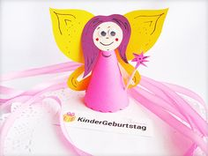 Fee aus Papier Diy Crafts, Fairy Invitations, Free Stencils, Dress Up, Elementary Schools, Homemade, Crafts, Diy Projects, Do It Yourself Crafts
