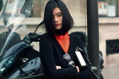 #MingXi looking somewhat hypnotic #offduty. #JasonJean