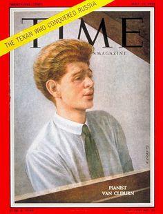 Van Cliburn, 1958 #time #piano #classicalmusic