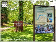 """Discover A Hidden History""- Trail of Tears Wayside Exhibit- Waynesville, Missouri"