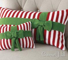 Holiday pillows!