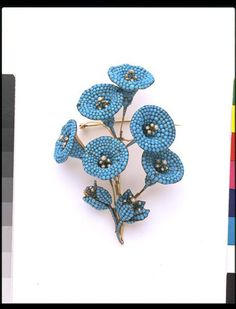 Convolvulus (Brooch) | V&A Search the Collections