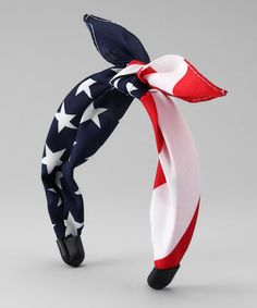 American Flag Headband by Tilted Bow