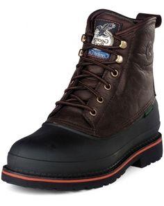 Awesome Waterproof Steel Toe Work Boots For Men Models