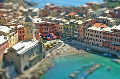 Tilt shift photography- makes your normal sized photos look like small scale versions, kinda cool!
