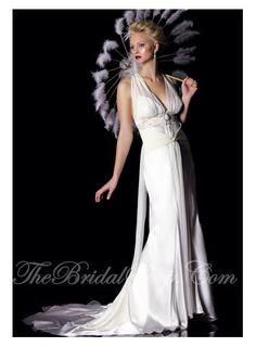 Wedding Dresses : Old Hollywood style wedding dress designers?