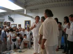 """John of God at """"The Casa"""" in Brazil"""