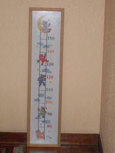 Medidor para niños en punto de cruz