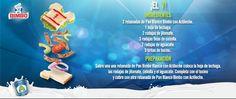 ¡Una receta deliciosa con Pan Blanco Bimbo con Actileche! ¿Quién se anima a prepararla? http://bimbo.com.mx/actileche/