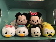 Mickey And Friends Tsum Tsums (mickey mouse, minnie mouse, donald duck, daisy duck, goofy, pluto, duffy, shellemay )