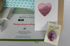 Sealed with Irish Love Box Love Box, Dublin Ireland, Subscription Boxes, Seal, Irish, Creative, Crafts, Irish People, Harbor Seal