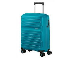 SAMSONITE AMERICAN TOURISTER SPINNER 51G51001 SUNSIDE-55/20 TSA JUST LUGGAGE, TEAL, 51G-51-001 Suitcase, Modeling, Teal, Vacation, American, Shopping, Travel Ideas, Vacations, Modeling Photography