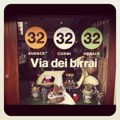Window @ Cellar & Bottega!!!