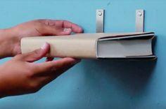 Tuto : créez des étagères 'invisibles' pour vos livres