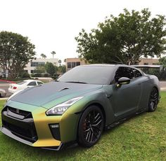 """The owner of this beauty is Taner Fox he's a 16 year old YouTuber. The color wrap of this amazing beast is called """"California Guac"""""""