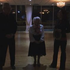 Alice has been taking lessons from #ArthurMurray for 34 years! She did a fabulous #waltz for us tonight at the ripe age of 96! #danceatanyage #danceislife