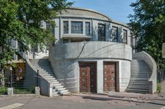 Melnikov and Moscow Workers' Clubs: Translating Soviet Political Ideals into Architecture,Kauchuk Factory Club, 1929. Image © Denis Esakov