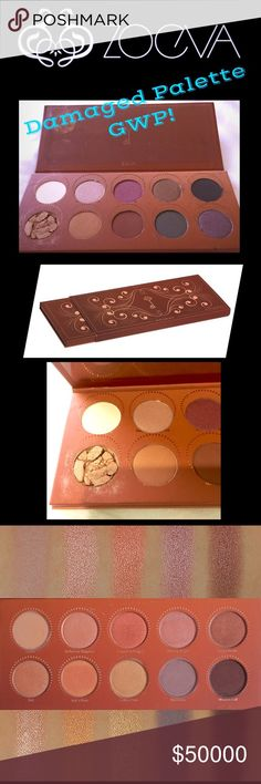 💐Gifted!💐 ZOEVA Rose Golden Palette is a harmony of lustrous hues in rose golden and royally dark browns for shimmery natural and dramatic glamour. No parabens. No fragrances. No phthalates. Got this in Germany and you can see the palette is defective.  I make no authenticity guarantee as I no longer have a receipt.  Popular brand there.  I have never used the palette.  GWP w/ next $30+ purchase.  You can still expect my usual freebies, as well- this is just a bonus!! See comments. 💋💋Amy…