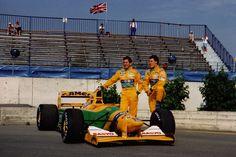 1992,Martin Brundle & Michael Schumacher, Benetton Ford