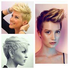Stoere kuiven deel Get your rock on! Faux Hawk, Hair Affair, Aveda, Short Cuts, Beauty Hacks, Short Hair Styles, Hair Cuts, Hairstyle, Rock