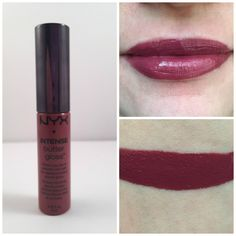 nyx toasted marshmallow intense butter lip gloss. Reminds me of Too Faced Melted Fig! But $6!