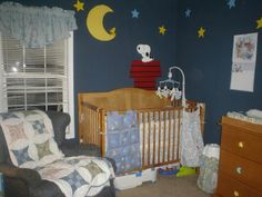 Decorating Ideas For A Baby Snoopy Nursery Theme Using The Latest Bedding Sets And Decorations Items