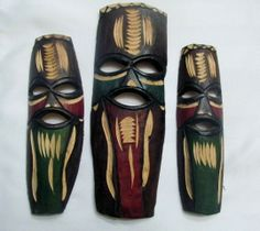 African Masks, Boutique, How To Make, Boutiques