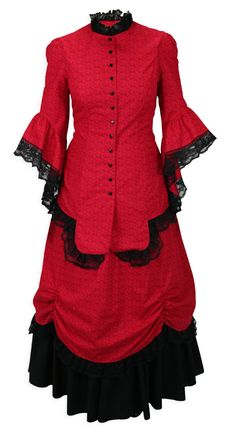 Lucille Walking Suit - Red $159.95