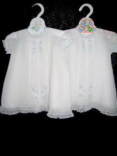 "Lovely heirloom ""Old Fashioned Baby"" dresses!"