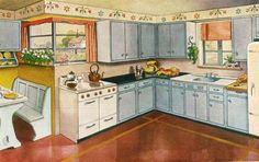 Your Modern Morgan Kitchen (1946) | Flickr - Photo Sharing!