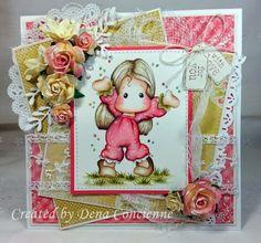 Dena's Stamping Corner: Magnolia
