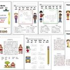 Sight Wordsl Dolch Primer Words Literacy Centers and Activities – 28 Center Activity Cards - Word Searches, Word Matches, Word Scrambles, Crossword...