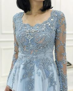 "Anggi Asmara on Instagram: ""#anggiasmara #kebayaanggiasmara #fittingkebaya #inspirasikebaya #kebayainspiration"" Kebaya Hijab, Kebaya Brokat, Kebaya Dress, Kebaya Modern Dress, Model Kebaya, Embroidery Jewelry, Women's Fashion, Gowns, Bridal"