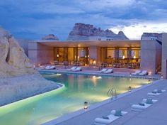 Amangiri Resort, Canyon Point, Utah | I-10 studio (Marwan Al-Sayed, Wendell Burnette, and Rick Joy)